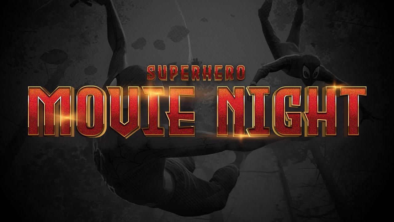 Superhero Movie Night: Into the Spiderverse