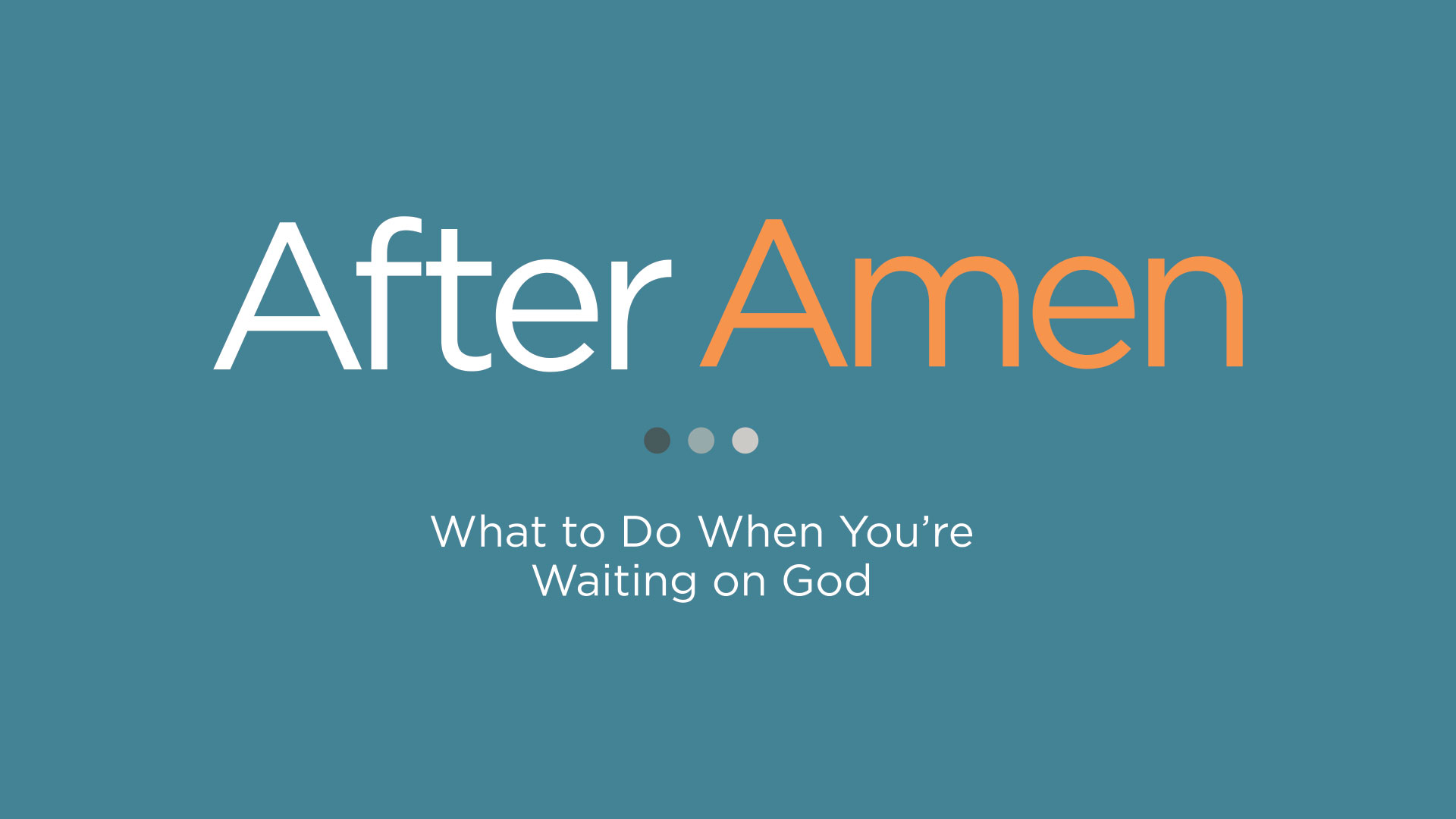 After Amen
